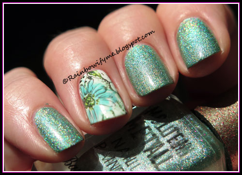 Barry M Molten Metal ~ Holographic Flare