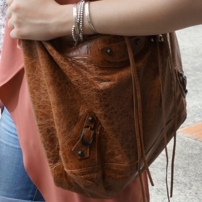 Balenciaga autumne brown RH classic day bag | Away From The Blue