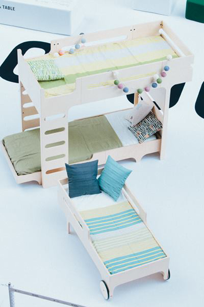 F BUNK BED - A TEEN BED - R TOODLER BED designer:RAFA - KIDS