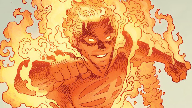 siapa human torch siapa the thing anggota fantastic four