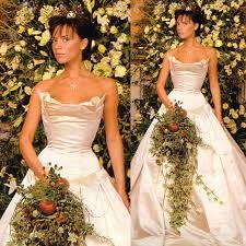 Celebrity Victoria Beckham Wedding Dresses Pics Wedding Inspiration