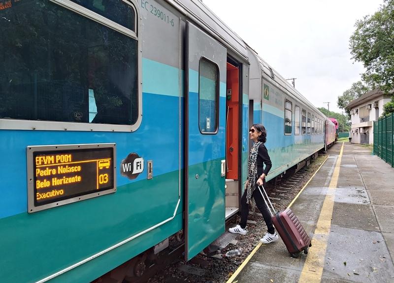 Trem de Vitória a Belo Horizonte: preço da passagem, horários, bagagem permitida...