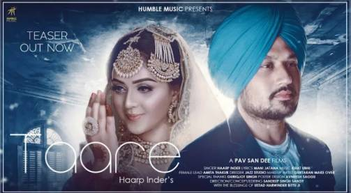 Taare song Lyrics by Haarp Inder