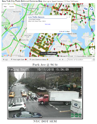 Live DOT NYC Traffic Camera Locations