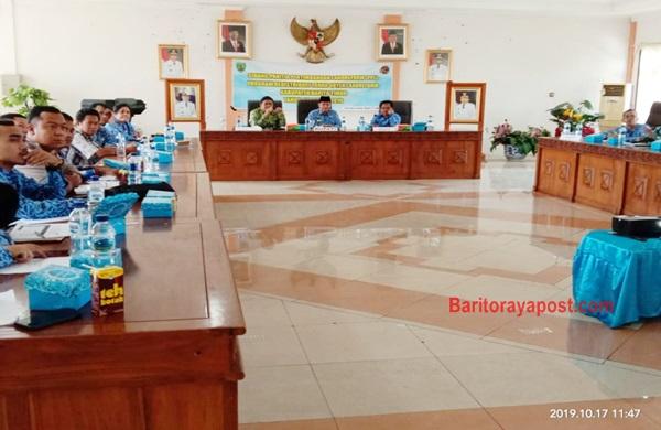 Bupati Bartim Pimpin Sidang Panitia Pertimbangan Landreform Tahun 2019