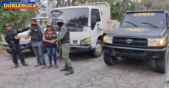 Camioneros rescatados por el CONAS tras permanecer secuestrados en Maracaibo