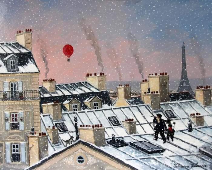 Окна в прошлое. Fabienne Delacroix