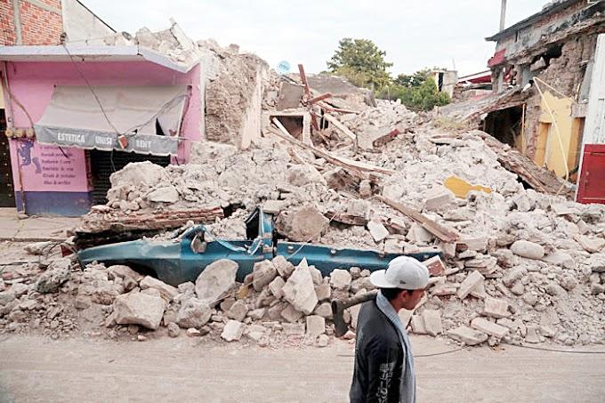 Dinero para la reconstrucción, los partidos en Chiapas, ni les preocupa