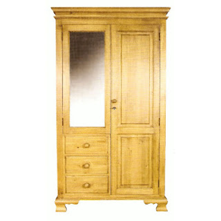 Teak Minimalist waredrobe and Armoire 2 door furniture,interior classic furniture code 125