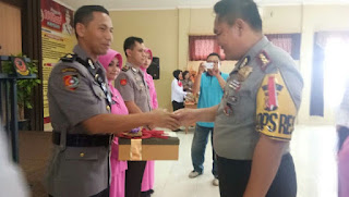 Kapolres Cirebon Pimpin Langsung Acara Pisah Sambut Wakapolres Dan Kasat Reskrim