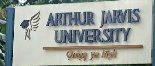 Arthur Jarvis University Academic Calendar 2019/2020 [REVISED]