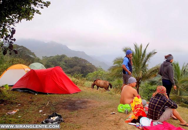 Mt. Daguldol campsite