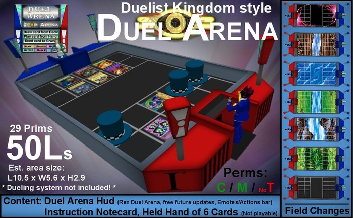Yu-Gi-Oh duel arena