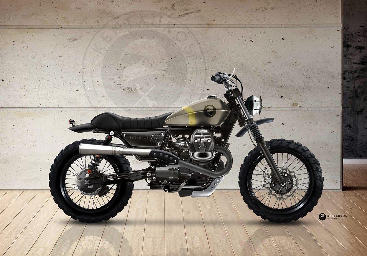 Ducati Scrambler Verde
