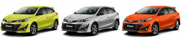 Perbedaan Toyota All New Yaris