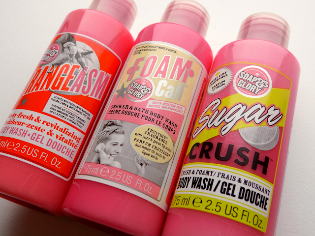 Soap & Glory body washes review