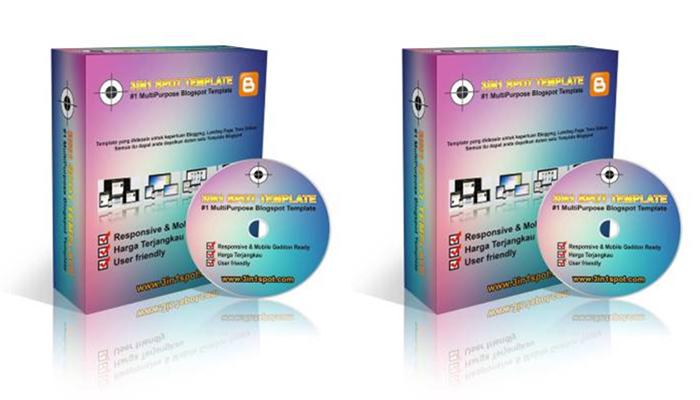 3IN1 Spot Template #1 MultiPurpose Blogspot Template