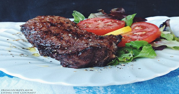 Grilled Orange Marmalade Marinated Steaks Recipe