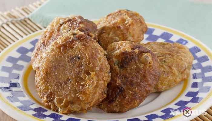 Resep cara membuat perkedel kentang kornet