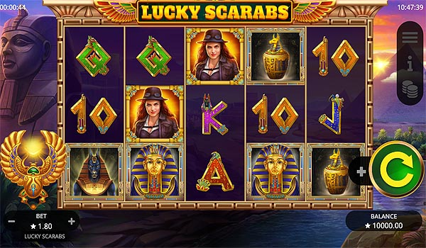 Main Gratis Slot Indonesia - Lucky Scarabs Booming Games