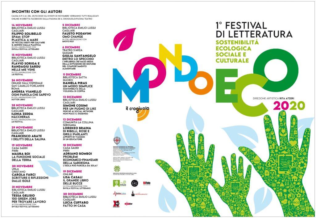 """Al via la prima edizione del festival letterario del Crogiuolo: """"Mondo Eco"""""""