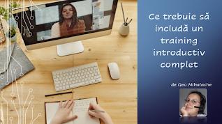 Articol #resurseumane - Training-ul introductiv: ce ar trebui sa includa