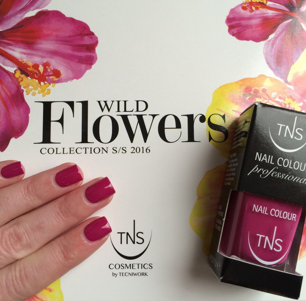 TNS Cosmetics Wild Flowers: Fuchsia