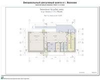 Проект внешкольного досугового центра в г. Иваново. Архитектурные решения - План 1-го этажа