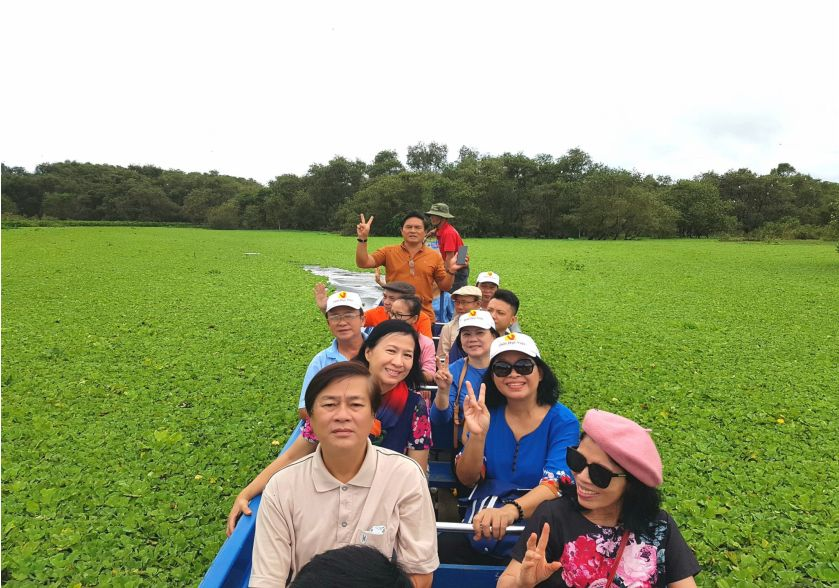 Cảnh đẹp rừng tràm Trà Sư - tour Cà Mau 4 ngày