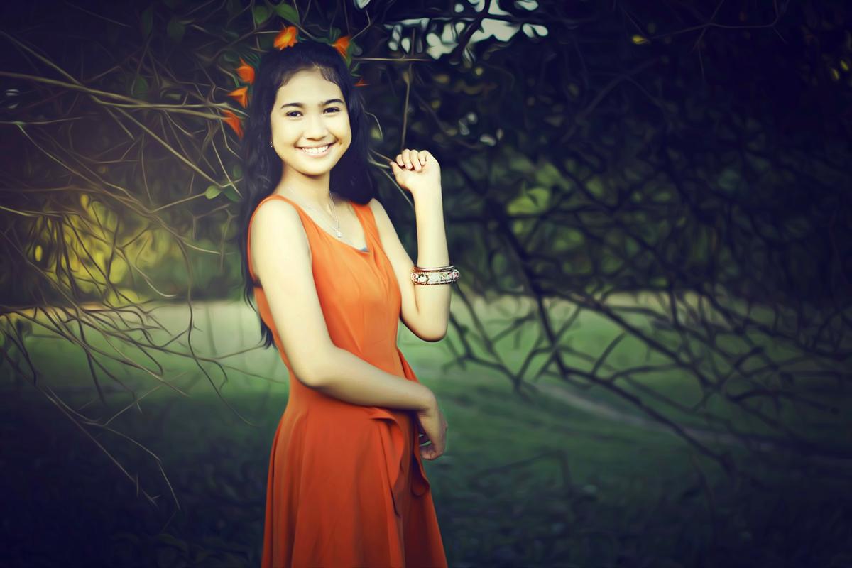 Hunting Foto Model Konsep Fairy Tale Bersama Viona Utami lesung pipit