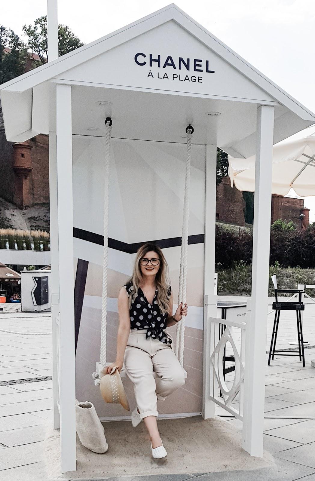 Chanel a la plage Warszawa