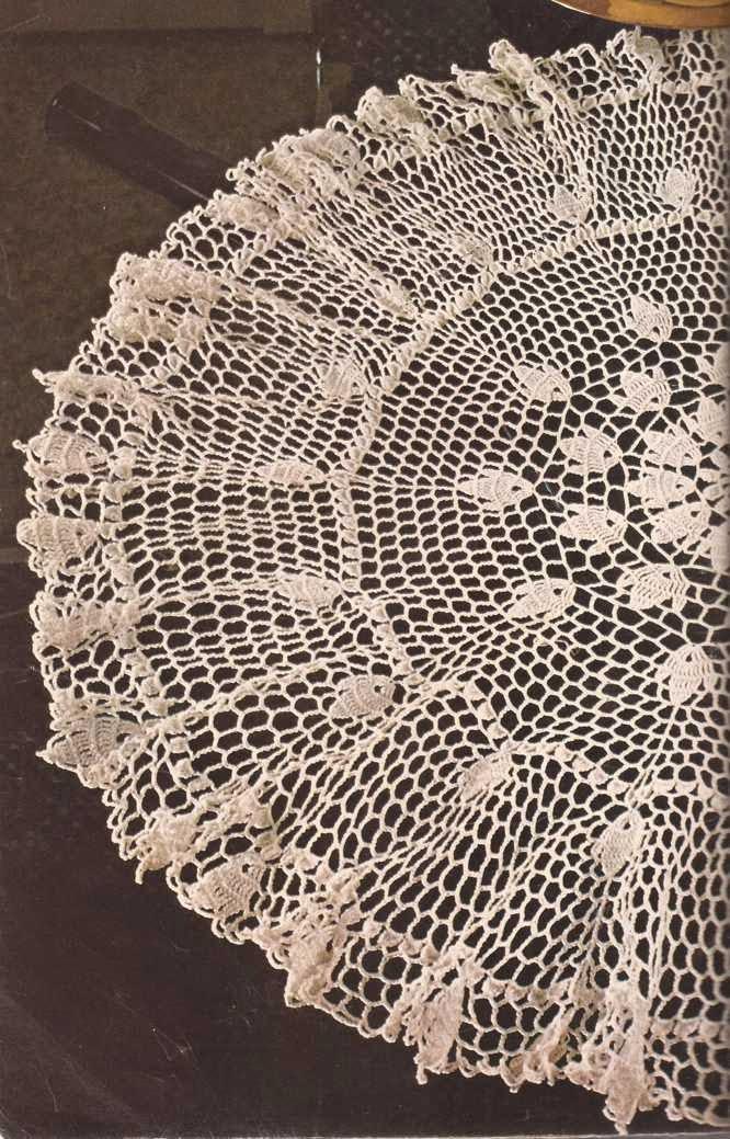 "Tapete ""Sevilla"" a Crochet"