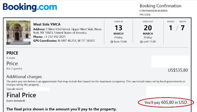 Onde ficar em Nova York gastando pouco: West Side YMCA