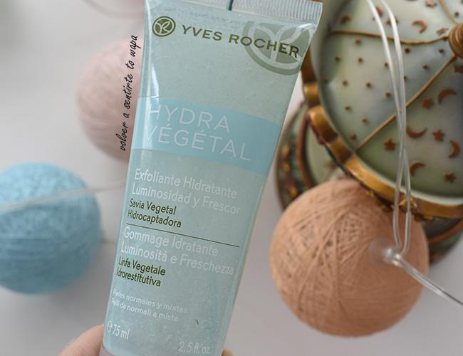 Hydra Vegetal, limpieza facial de Yves Rocher