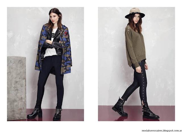Moda invierno 2016 ropa de mujer Kosiuko. Moda 2016.