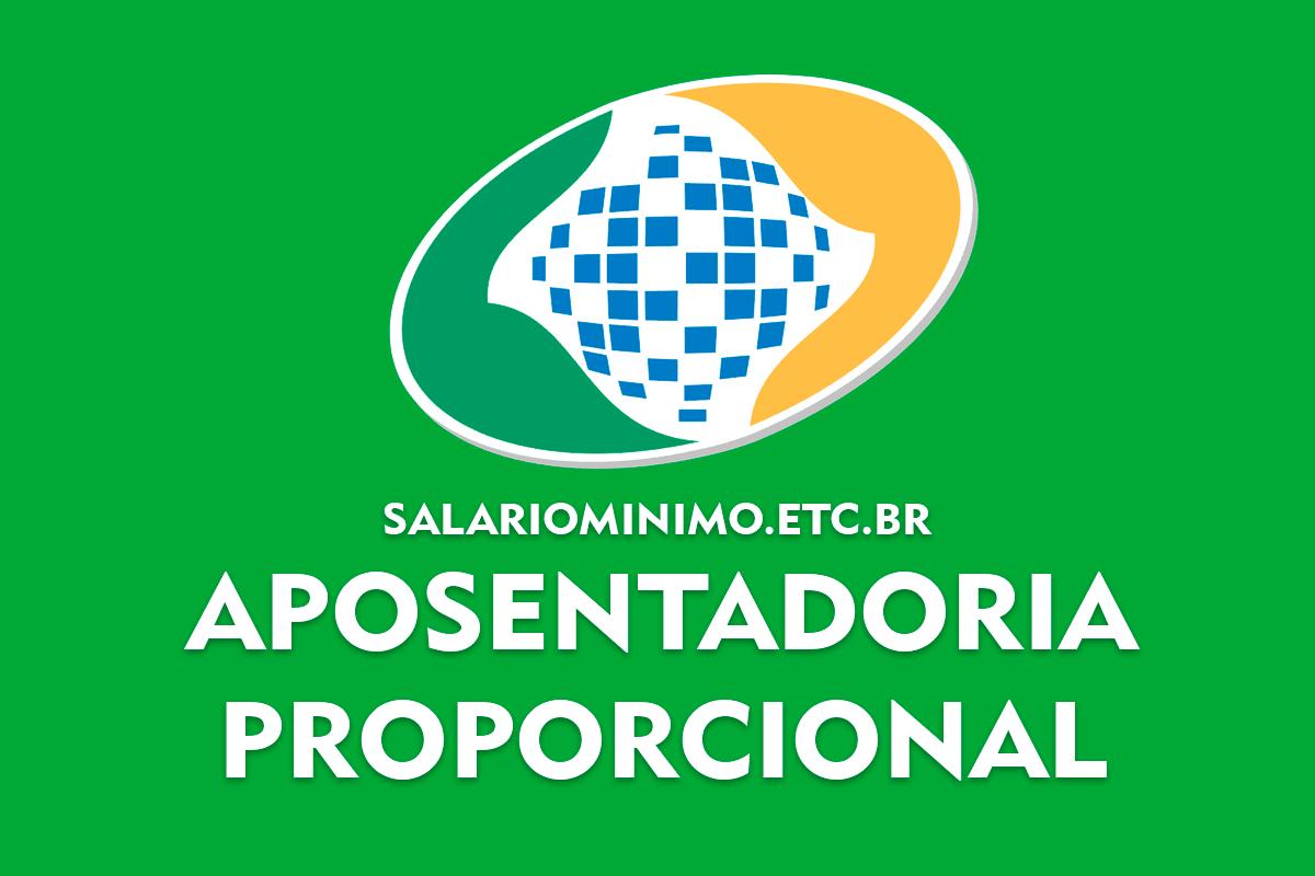 Aposentadoria Proporcional 2021