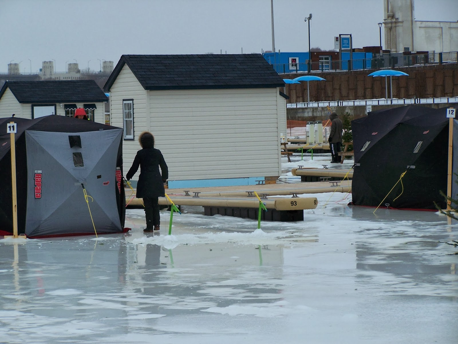pêche blanche, pêche sous la glace, Daniel Lefaivre, blogue Daniel Lefaivre