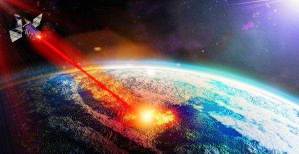 Penembakan senjata laser