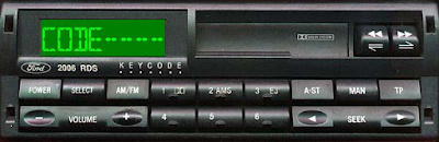 Ford Radio Codes