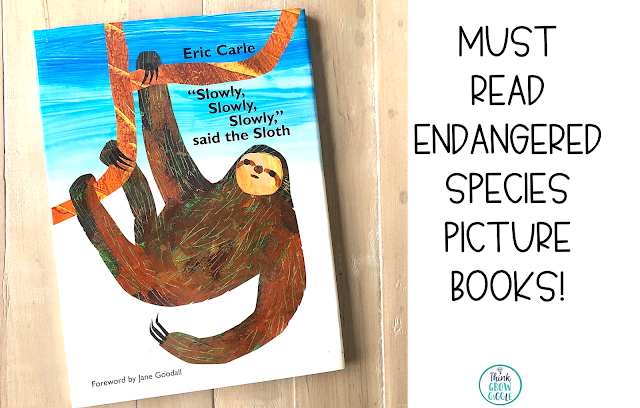 sloth endangered animal story