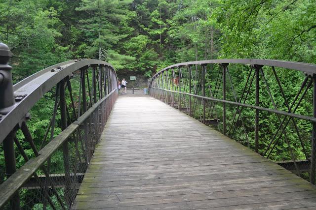 Парк Уоткинс-Глен, штат Нью-Йорк (Watkins Glen State Park, NY)