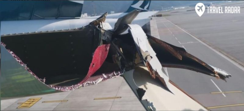 Cathay Pacific A350 And Boeing 777 Collided At Hong Kong Airport
