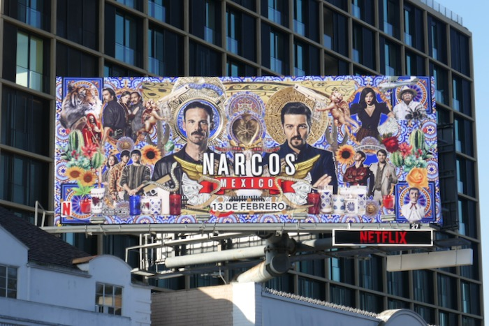 Narcos Mexico season 2 billboard
