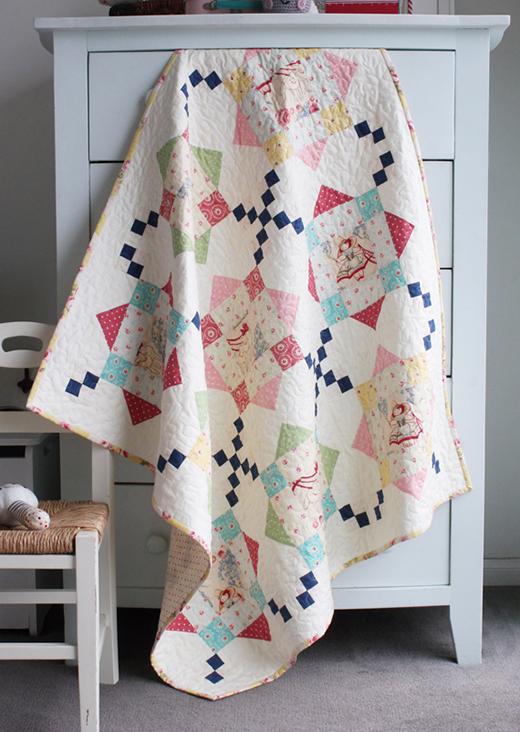 Bon Bon Bebe Quilt Free Pattern