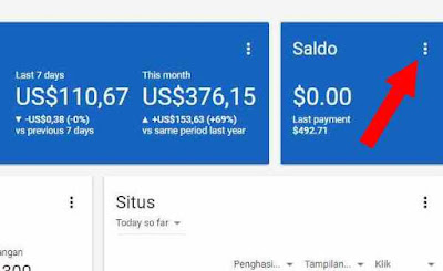 Pembayaran Adsense Via Bank