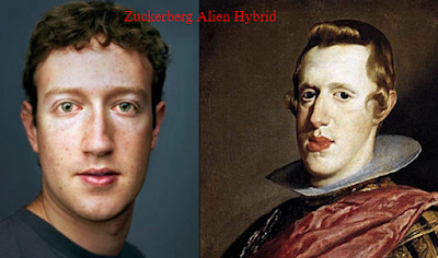 Is Mark Zuckerberg a cloned Alien from ancient history.