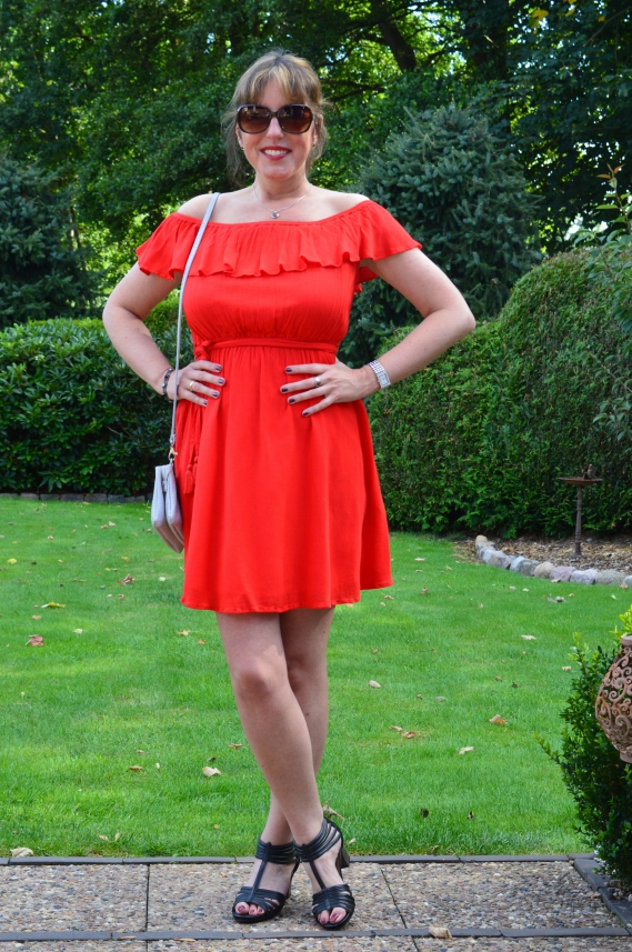 Kleid rot orsay