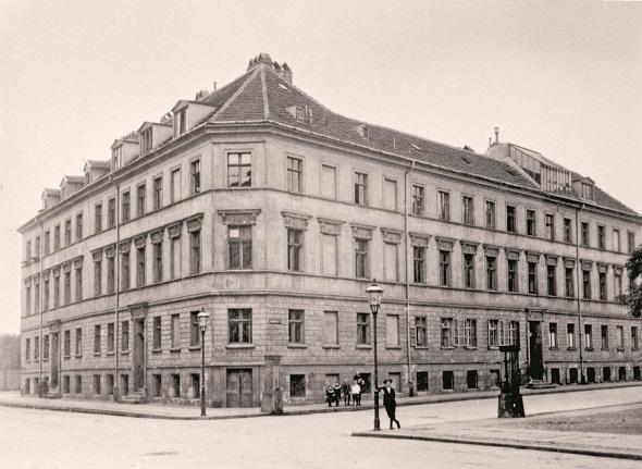 Robert Koch Institut Schumannstrasse en Berlín-Mitte