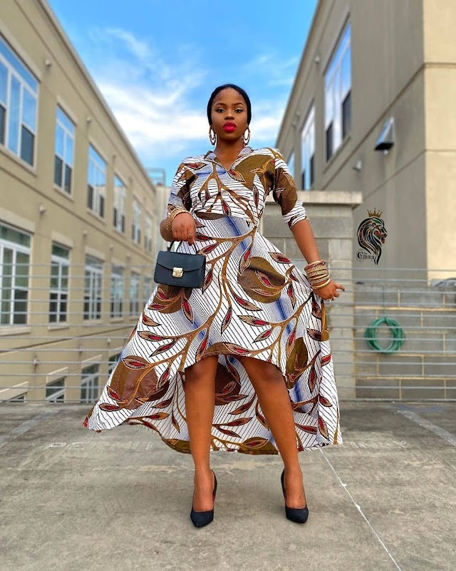 12 BEST WAYS TO STYLE YOUR GOWN WITH ANKARA MATERIAL!! (SEE PHOTOS)
