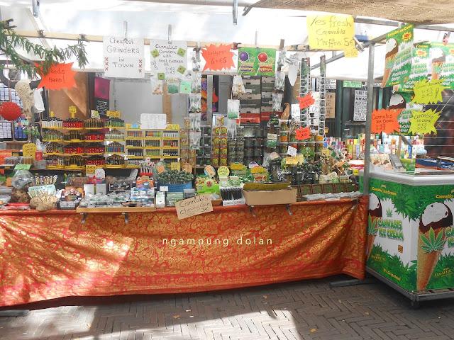 Beli Es Krim Cannabis di Pasar Amsterdam